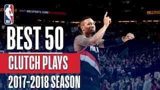 Download Best 50 Clutch Plays of the 2018 NBA Regular Season Video