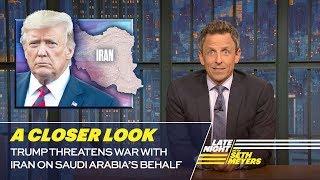 Download Trump Threatens War with Iran on Saudi Arabia's Behalf: A Closer Look Video
