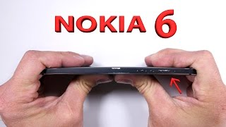 Download Nokia 6 Durability Test - Scratch, Burn, And BEND tested Video
