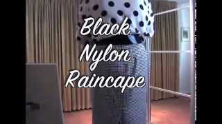 Download Black Nylon Raincape Video