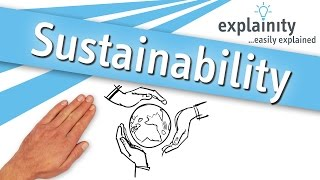 Download Sustainability easily explained (explainity® explainer video) Video