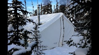 Download -34c Cold, Frigid and Freezing Wall Tent!! Video