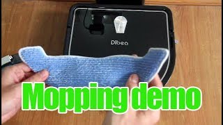 Download Dibea D960 Mopping Demo Video