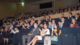"Download A premiere of the movie ""Ali and Nino"" takes place at the Heydar Aliyev Center Video"