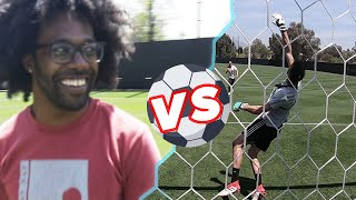 Download Regular People Try Scoring On A Pro Goalkeeper Video