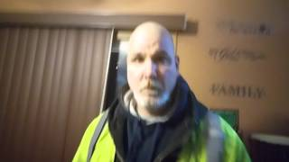 Download DAD GETS HIT WITH SNOW BALL AFTER WORK Video