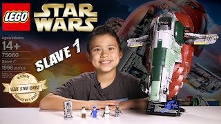 Download LEGO SLAVE 1 - LEGO Star Wars UCS Set 75060 Time-lapse, Stop Motion, Unboxing & Review Video
