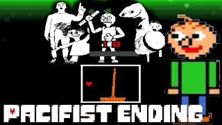 Download Baldi Battle in Undertale Pacifist Ending Video