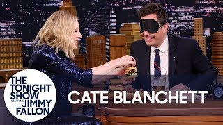 Download Cate Blanchett Gives Jimmy a Blind Burger Taste Test Video