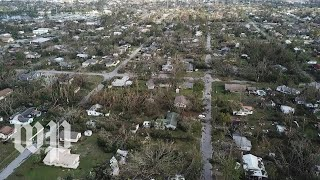 Download See the aftermath of Hurricane Michael from above Video