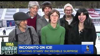 Download Six Olympians Trick Local Ice Skaters Video