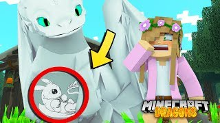 Download OUR LIGHT FURY DRAGON IS PREGNANT   Minecraft DRAGONS w/ Little Kelly Video