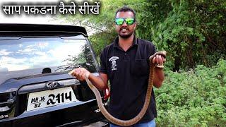 Download साप पकडना कैसे सिखते है.. जानने के लिए इस वीडियो को आखरी तक देखिये.. Snake catching information Video