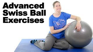 Download 7 Best Advanced Swiss Ball Exercises - Ask Doctor Jo Video