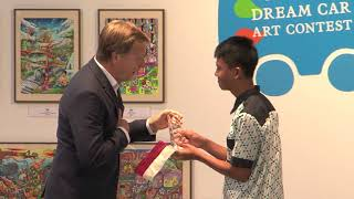 Download Toyota Holds 11th Dream Car Art Contest Awards Ceremony Video