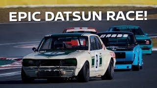 Download 4 Wide in Classic Cars! NISMO HERITAGE FULL RACE Video