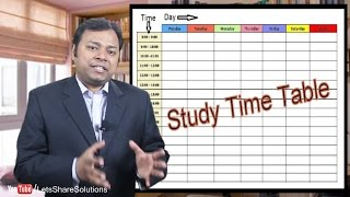 Download How to make and FOLLOW a Study TimeTable Video
