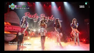 Download BLACKPINK - 'SURE THING (Miguel)' COVER 0812 SBS PARTY PEOPLE Video