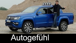 Download VW Volkswagen Amarok Aventura FULL REVIEW V6 TDI test driven offroad onroad new Facelift neu 2017 Video