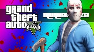 Download GTA 5 Online: Murder Maze - First Person Edition! (GTA 5 Next Gen Funny Moments) Video