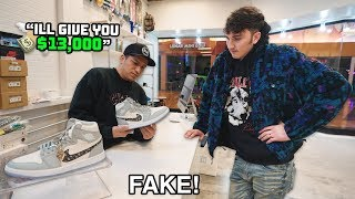 Download I Tried To Sell Fake Dior Jordan 1s At Sneaker Stores Video