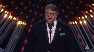 Download Guillermo del Toro wins Best Directing Video