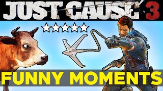 Download Just Cause 3: Funny Moments EP.2 (JC3 Epic Moments Funtage Montage Gameplay) Video