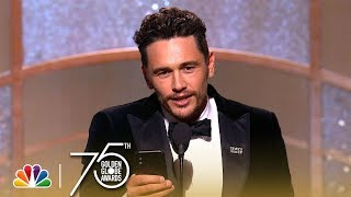 Download James Franco Wins Best Actor, Musical or Comedy at the 2018 Golden Globes Video