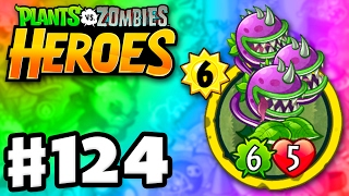 Download Three-Headed Chomper! - Plants vs. Zombies: Heroes - Gameplay Walkthrough Part 124 (iOS, Android) Video