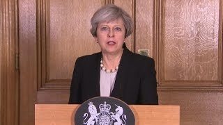Download British prime minister announces UK terror threat level raised to critical Video