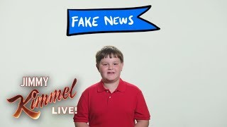 Download 3rd Grader Explains Fake News to Donald Trump Video