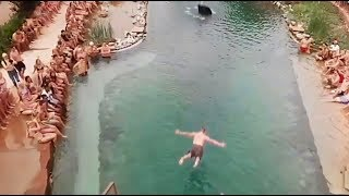 Download JUMP INTO WATER GONE WRONG fails pt.8 [FailForceOne] Video