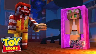 Download RONALD MCDONALD DOLL GOES PSYCHO ! Minecraft ToyStore | Little Kelly Video