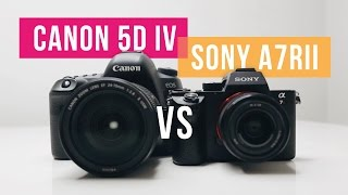 Download Canon 5D Mark IV vs Sony A7R II - Review for photographers and filmmakers Video