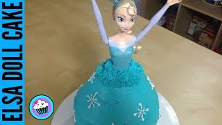 Download How to make Frozen Elsa Doll Cake - Pinch of Luck Video