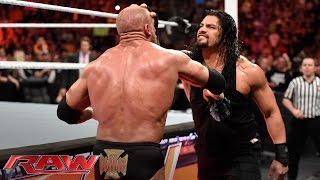 Download Roman Reigns brutalizes Triple H: Raw, March 14, 2016 Video