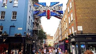 Download Carnaby Street + Regent Street London Summer Streets Video