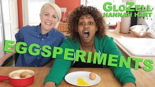 Download Eggsperiments - GloZell & Hannah Hart Video
