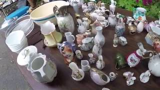 Download EPIC day for yard sales! Scored a ton of antiques, jewelry, gold & MORE! Video