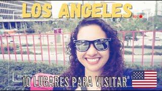 Download 10 lugares que visitar en Los Angeles, California Video