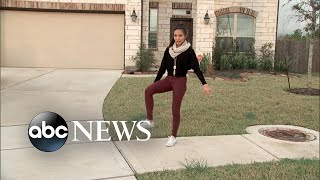 Download Teen goes viral with gravity-defying dance move Video