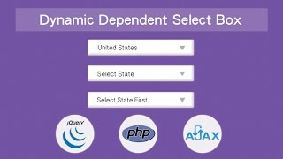 Download Dynamic Dependent Select Box using jQuery, Ajax and PHP Video