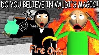 Download DO YOU BELIEVE IN VALDI'S MAGIC?! | Baldi's Basics MOD: Valdi's Basics Video