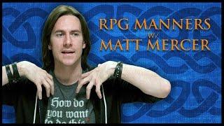 Download RPG Etiquette! (Game Master Tips) Video