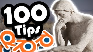 Download 100 Blender 2.8 tips you might not know! (Blender 2.8 tips and tricks) Video