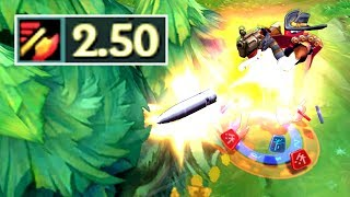 Download 2.50 ATTACK SPEED JHIN! No Reloads + Jhin AS Record! Video