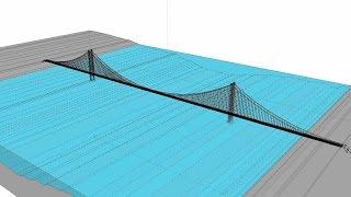 Download Suspension bridge Animation Video Video