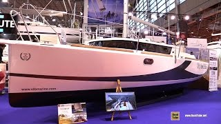 Download 2016 Mojito 8.88 Sailing Yacht - Deck and Interior Walkaround - 2015 Salon Nautique de Paris Video