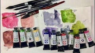 Download Daniel Smith PrimaTek Watercolor & Brushes Haul Video from DickBlick Video