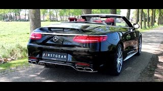Download 2016 Mercedes-AMG S63 Cabriolet Review | Hartvoorautos.nl | English Subtitled Video